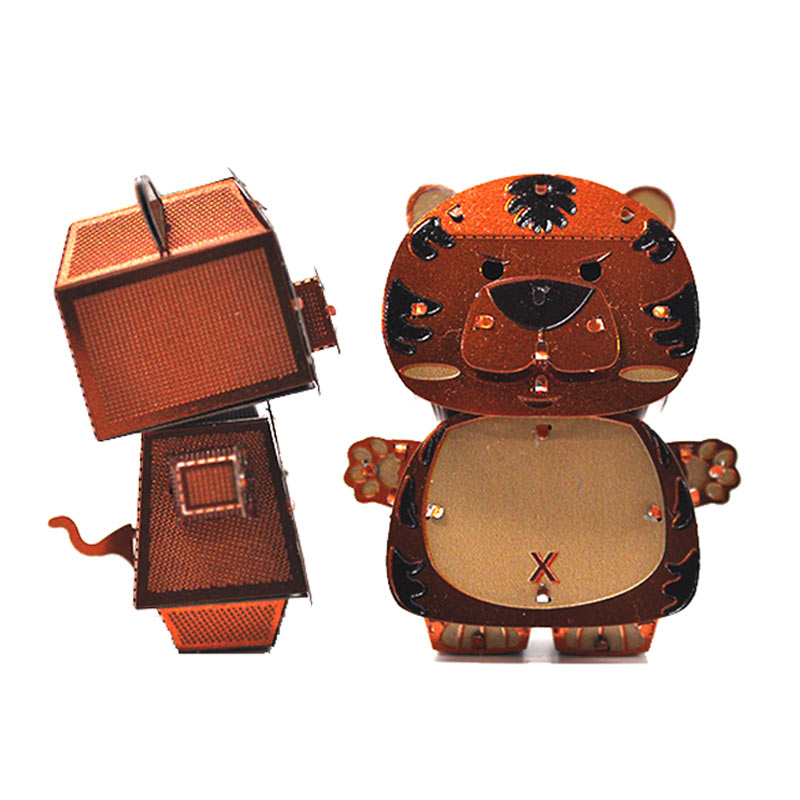 JLCC [3D컬러메탈퍼즐]호랑이(3D Color Metal Puzzle-Tiger)